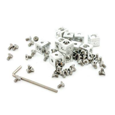 aluminum cubes